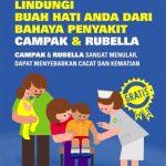 Mari Sukseskan Imunisasi Campak Rubella Agustus – September 2017